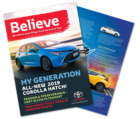 Believe Magazine - Issue 18 - Toyota NZ