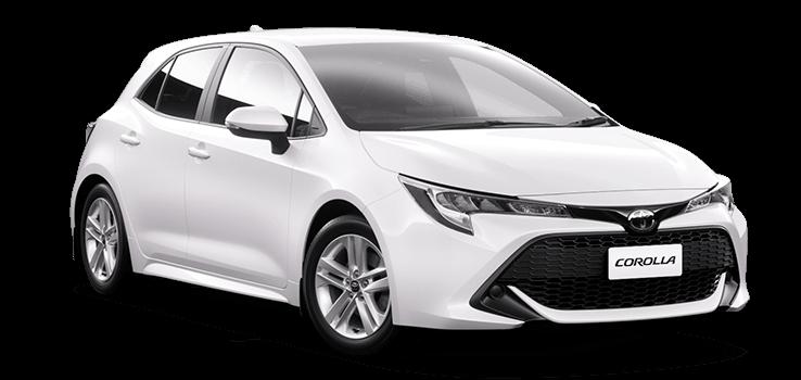 White Toyota Corolla >> Corolla Hatch Gx Petrol Automatic