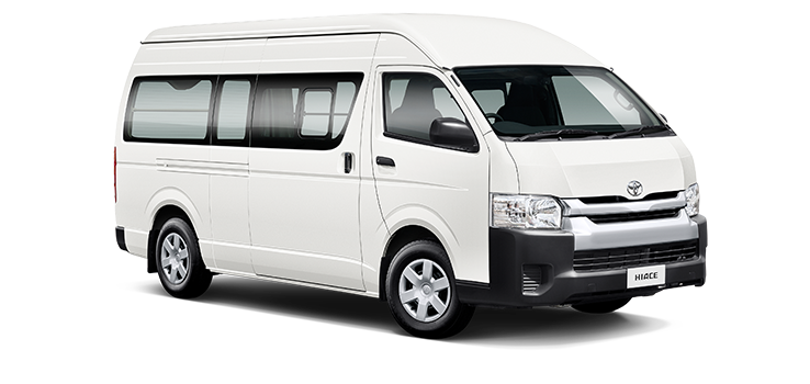 Toyota hiace van dimensions