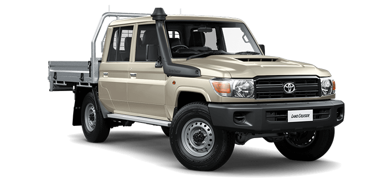 Toyota Land Cruiser 70 Lt Double Cab Manual Tray Not Included