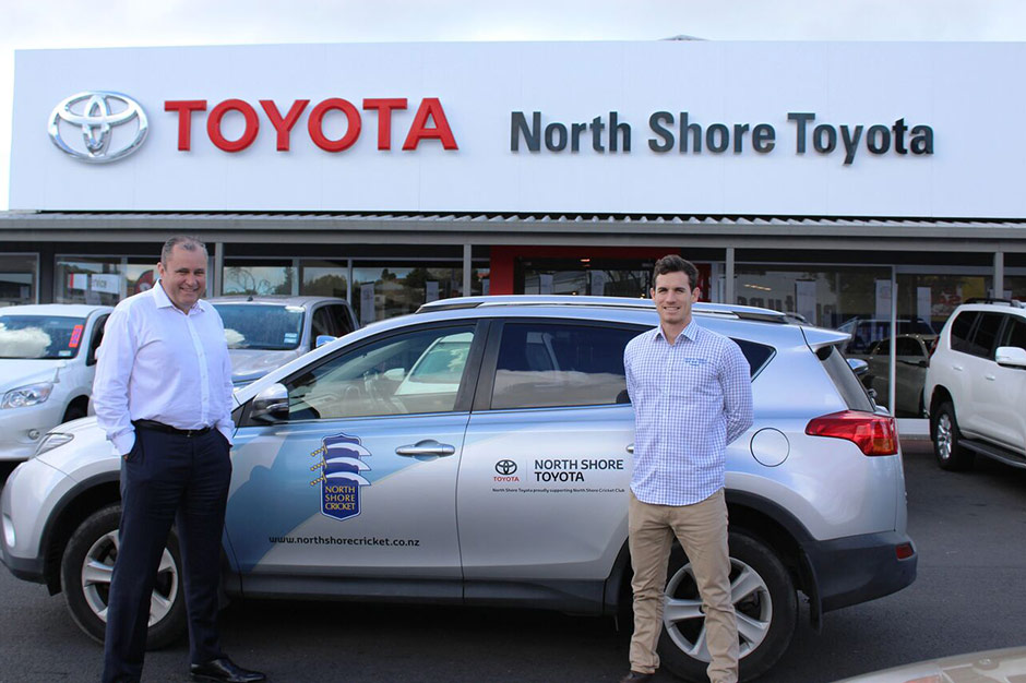 North Shore Toyota Are Proud Sponsors Of The North Shore Cricket Club