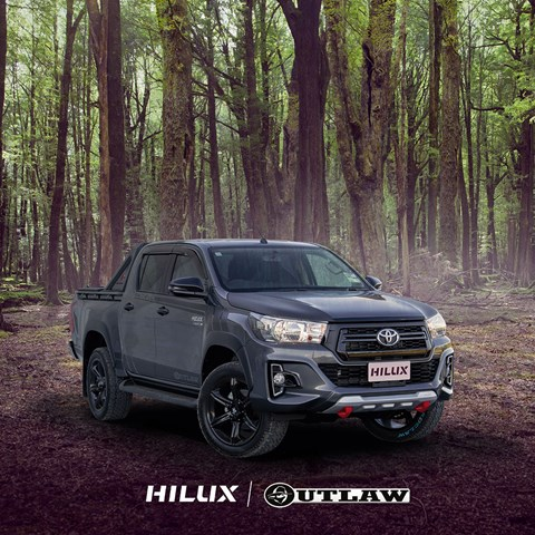 Limited Edition Fortuner Outlaw Styling Package