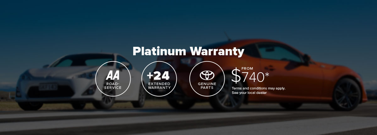 platinum new vehicle extended warranty   toyota nz