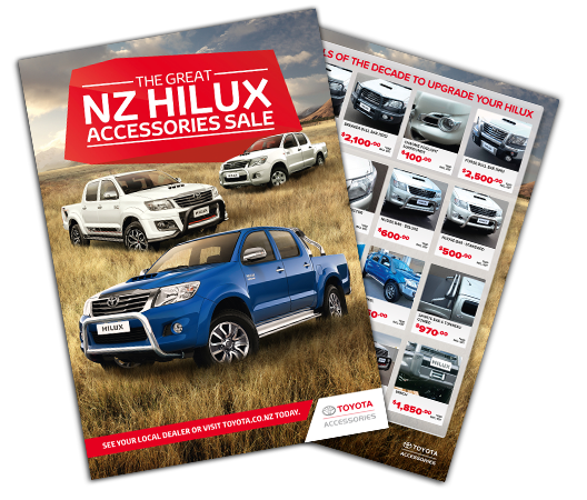 Hilux Accessories - Click here to download brochure