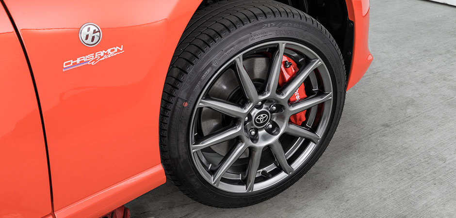 Machined 17-inch alloys