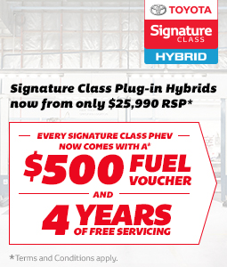 Signature Class Prius PHEV Offer