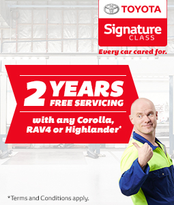 Signature Class 2 Year Free Servicing Offer