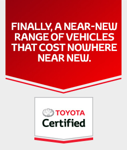 Toyota Certified Offer
