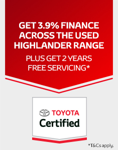 Toyota Certified Highlander Offer