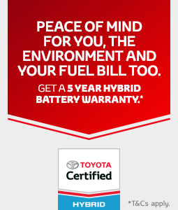 Toyota Certified Hybrid Offer
