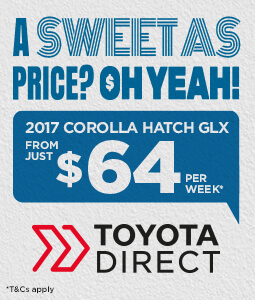 Corolla GLX Weekly Finance Offer