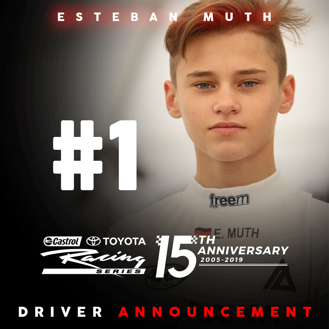 1st driver announcement TRS
