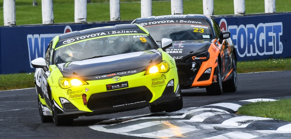 Adam takes early points lead in Toyota 86 Championship 940x450