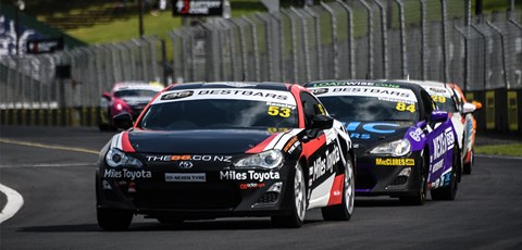 Kiwi Ransley Strikes First in Best Bars Toyota 86 Opener