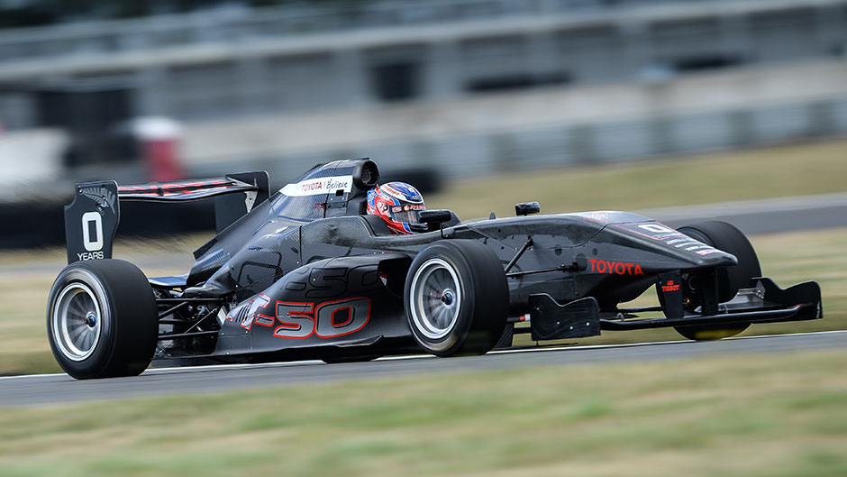 Toyota Racing New Zealand Launches New FT50 Race Car - Toyota NZ
