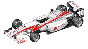 TOYOTA NEW ZEALAND UNVEILS NEW SINGLE SEATER RACE CAR
