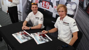 Earl Bamber and Brendon Hartley 300