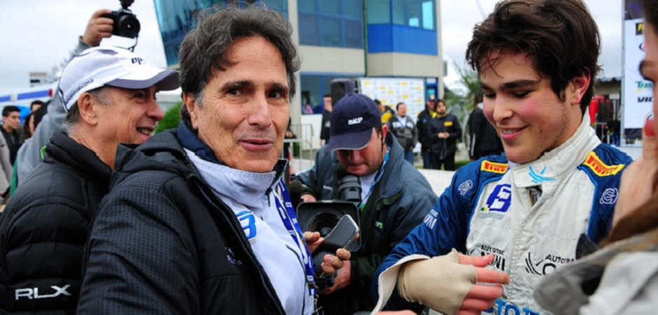 IMAGE - Pedro Piquet following his win at Curitiba, pictured with his father, Nelson Piquet (left) web 2