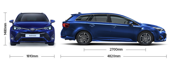 Toyota Avensis Wagon Specifications