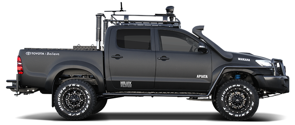 Build your own toyota hilux