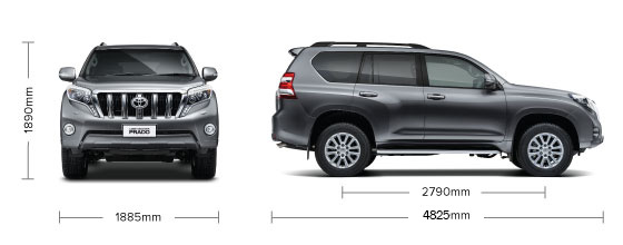 Land Cruiser Prado Vx Limited Specifications Toyota Nz
